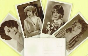 ROSS-VERLAG-1920s-Film-Star-Postcards-produced-in-Germany-1493-to-1540