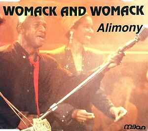 Womack-And-Womack-Maxi-CD-Alimony-France-VG-VG