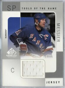2000-01-UD-SP-Edition-Tools-Of-The-Game-Jersey-Card-MM-Mark-Messier-110319-63