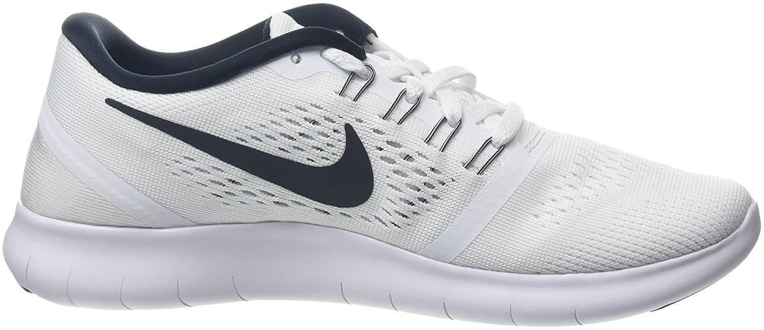 Zapatos promocionales para hombres y mujeres Womens NIKE FREE White Running Trainers 831509 100