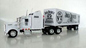 KENWORTH W900 Semi Trailer 1//43 Trucks  Diecast Jack Daniel/'s Custom Graphics