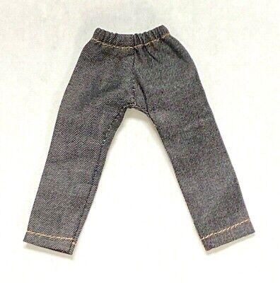 Marvel Legends SU-PJR-VB 1//12 Vantage Blue Jeans w// Ripped effect for Mezco