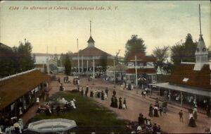 Chautauqua-Lake-NY-Celeron-Amusement-Park-c1910-Postcard