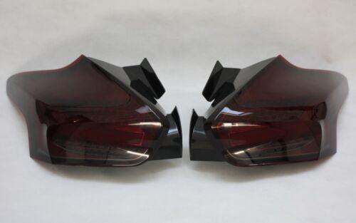 LED BAR RÜCKLEUCHTEN passen bei FORD FOCUS MK3 FACELIFT ROT SCHWARZ LINKS+RECHTS