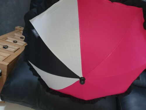 UNIVERSAL BABY PARASOL SUN FRILL UMBRELLA //PRAM STROLLER CANOPY PROTECT FROM SUN
