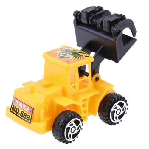 6pcs//set engineering vehicle cake topper kids boy birthday gift diy decorationYE