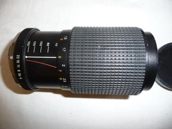 Courageux Objectif Photo Pour Pentax Slr Mitsuki 70-150 Mm F 1:4 .0 - Ricoh Petri Pk Adapter. R28 Vous Garder En Forme Tout Le Temps