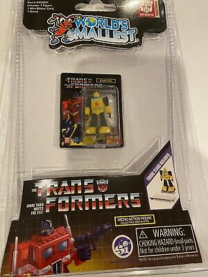 World/'s Smallest Transformers Bumblebee Micro Action Figure