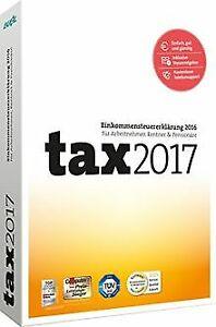 tax-2017-fuer-Steuerjahr-2016-von-Buhl-Data-Software-Zustand-gut