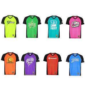 Mens-Sports-Tshirt-Active-Big-Bash-League-Cricket-Team-Shirt-BBL-Print-Tee-Top