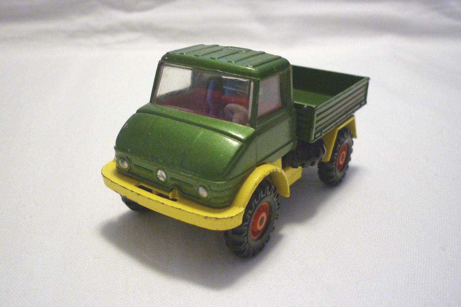 Corgi - Vintage Metal Model - Mercedes Unimog 406 - (Corgi 103)