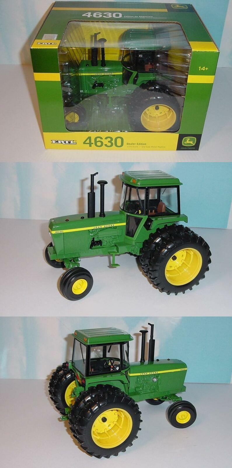 1 16 John Deere 4630 Dealer Edition Tractor W Duals NIB