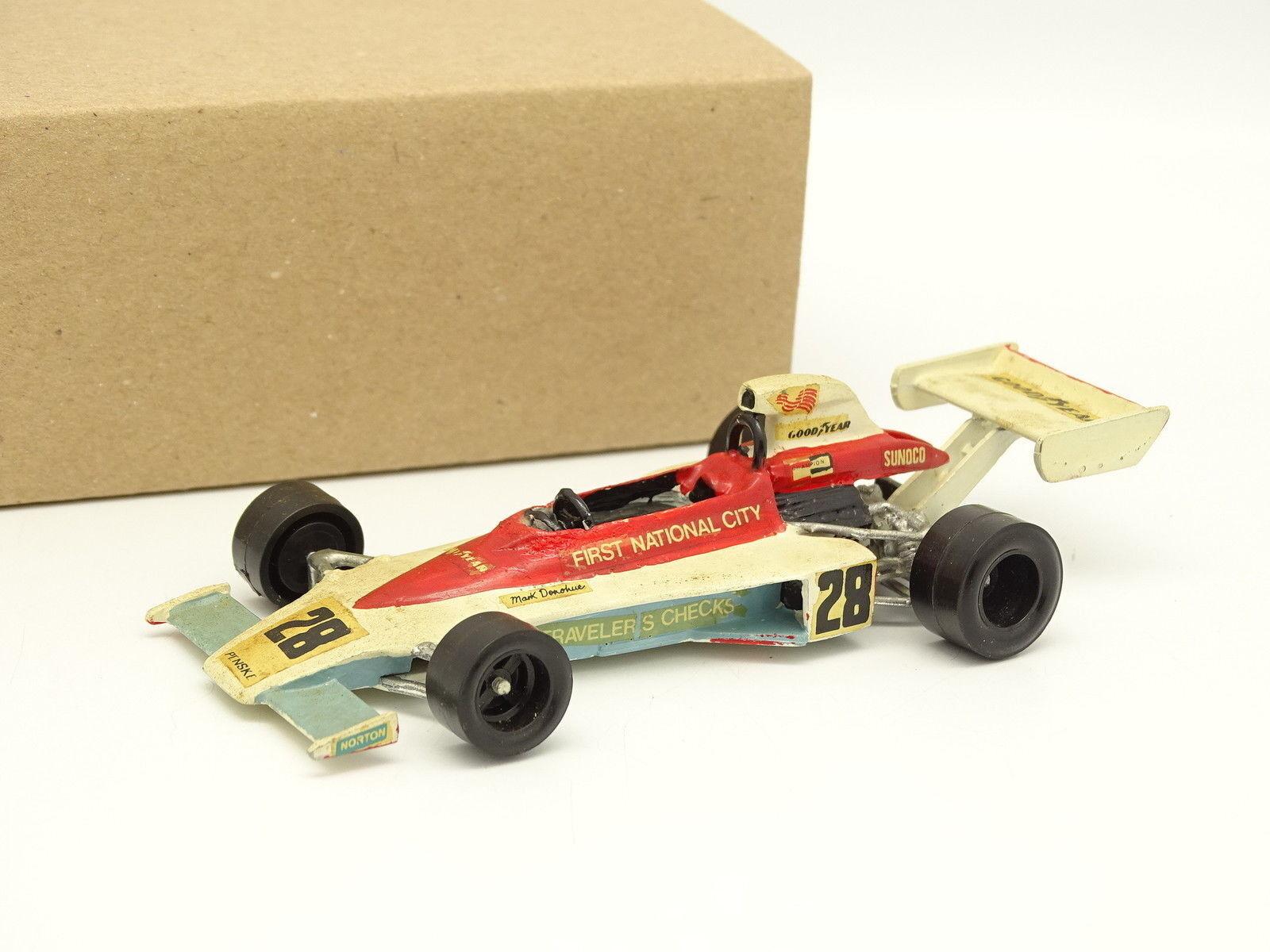 Kit Metal Montado 1 43 - F1 PENSKE PC1 FORD DONOHUE BÉLGICA GP 1975