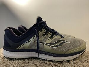 Saucony-Guide-ISO-S20416-1-Gray-Navy-Mens-Running-Shoes-Size-13-Wide
