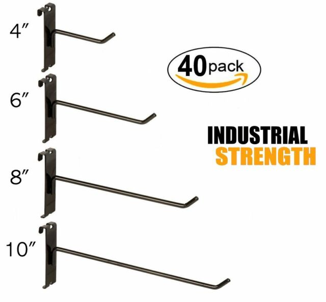 VMC 7237 Inline Single Hooks Size 4 Coastal Black Pack of 10 7237CB-04