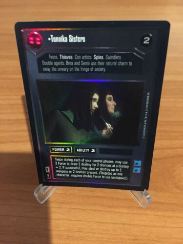 Star Wars CCG TONNIKA SISTERS Foil Reflections 1