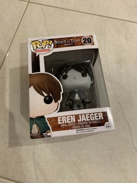 Attack On Titan - Eren Jaeger (Vaulted) Funko Pop Vinyl Figure *NEW* RARE!