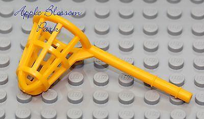 NEW Lego Minifig Orange BUTTERFLY FISH NET Sponge Bob Jellyfish Fishing Utensil