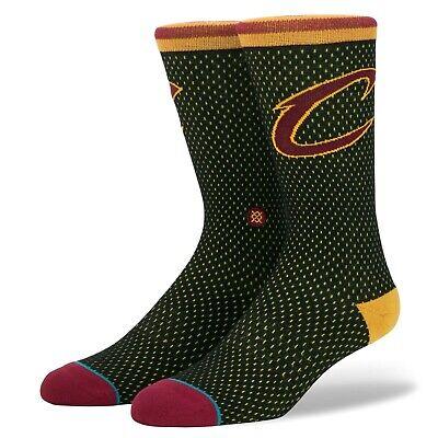 9-12 Stance Cleveland Cavaliers Cavs Team Logo Socks NWT 3 Pair Bundle Men/'s L
