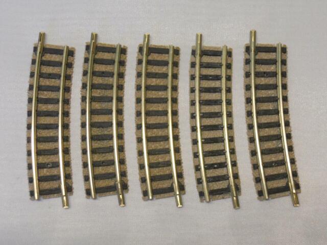 Flm piccolo 9127 gebogenes Gleis R2 15° hellgrau 5 Stück (34278)