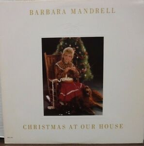 Barbara Mandrell Christmas at our House 33RPM MCA-5519  112516LLE  #2