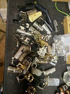 Clarinet And Sax Ligature And Cap Lot--Bonade, Martin, Luyben, Selmer And More!