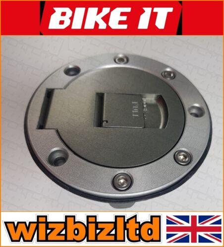 Bikeit Con Cerradura Tapa de combustible tapa de gasolina con 2 llaves fcpy 01 Yamaha MT-07 2013-2017
