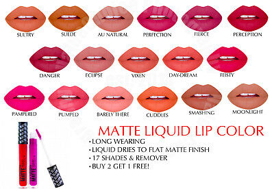 Cosmetics Matte Liquid Lips