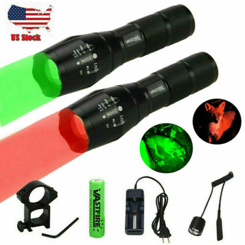 Zoomble Hunting LED Light Red//Green Coyote Lamp Predator Varmint w// Rifles Mount