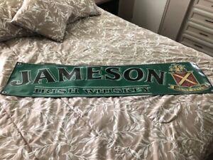 JAMESON IRISH WHISKEY - VINYL BANNER - NEW