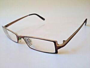 ccefc2f246 Image is loading Kliik-Denmark-Prescription-Eyeglasses-Gold-49-17
