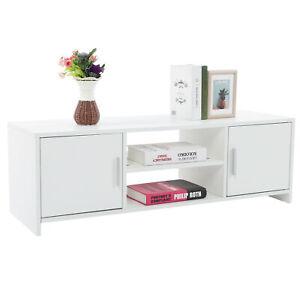 Meuble TV étagère Meuble de Rangement avec 2 tiroir 110*35*36cm