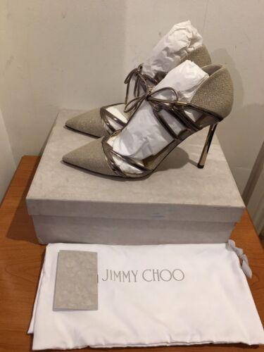 924b2aa9e2a Jimmy Elaphe Chaussures Choo 5 Escarpins € 5 Cutout 4 5 57 6 695 5 6 Hime  Talons ...