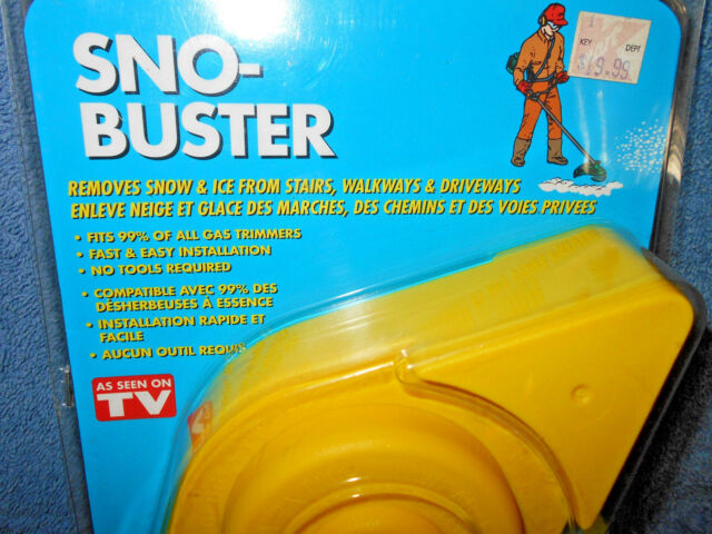 Snow Sno-Buster by Grass Gator Weed Eater Attachment As Seen On Tv