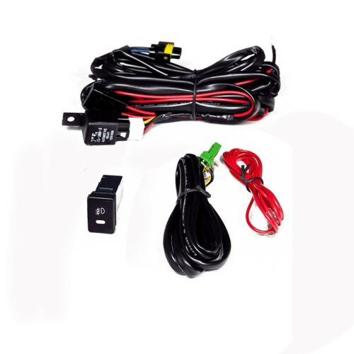 10-11 Toyota Camry Fog Lights w//Wiring Kit /& High Power COB LED Bulbs Yellow