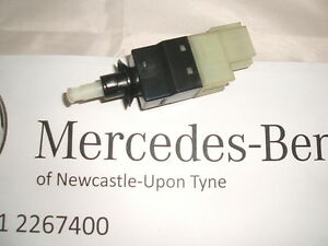 Genuine mercedes benz w211 e class brake pedal brake for Mercedes benz brake wear warning light
