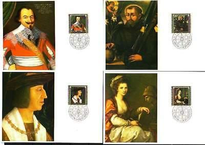 europa:15425 Romantisch Liechtenstein Mk 35 Michelnummer 809-812 Diverse Philatelie Europa