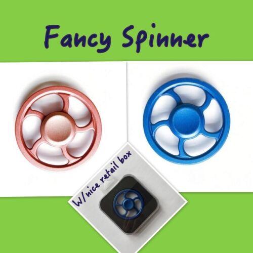 2020 New Updated Version Aluminum Alloy Round Wheel Hand Finger Spinner Fidget