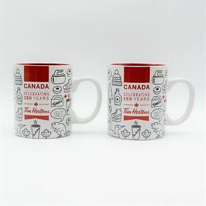 Tim Hortons Coffee Mug Cup Canada Celebrating 150 Yrs Limited Edition 2017 Lot 2