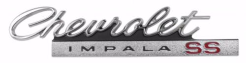 "US-Made 1966 /""Chevrolet Impala SS/"" Rear Emblem New TrimParts 66 Chevy"