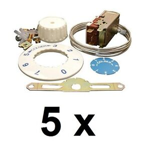 5-x-UNIVERSAL-FRIDGE-THERMOSTAT-KITS-VT9-K59-3-CONTACTS-1200mm-HIGH-QUALITY