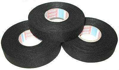 TESA Isolierband PVC 20m x 19mm Klebeband Band schwarz KFZ Auto Kabel Leitung