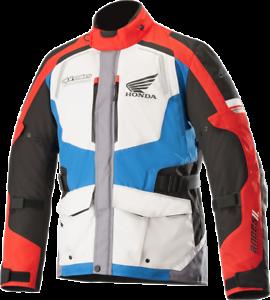 L Grey//Red//Black Alpinestars Andes Honda Drystar Jackets