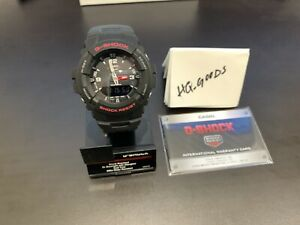 Casio-G-Shock-G-100-1BVMCI-Black-Red-Sports-Watch-Tough-Water-Resistant-Digital
