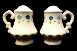 Vntage-Vernon-Ware-1-Blue-Salt-And-Pepper-Shakers-By-Metlox