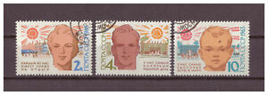 Sowjetunion-Weltgesundheitstag-MiNr-2744-2746-1963-used
