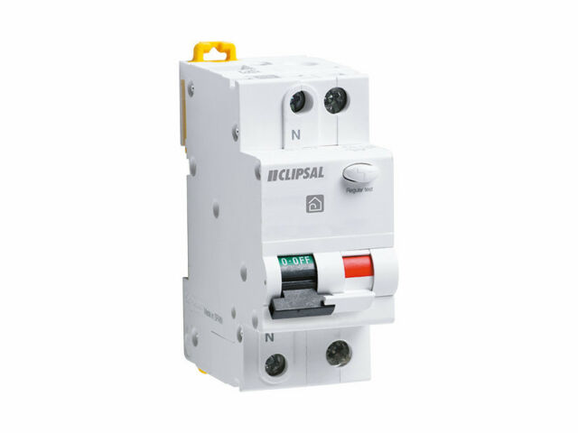 Clipsal 20 Amp Combo RCD MCB Safety Switch Circuit Breaker D/Pole RCBM220/30