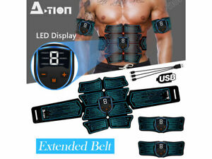 Smart-Abs-Stimulator-Training-Fitness-Gear-Muscle-Abdominal-toning-belt-Trainer