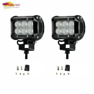 2x-4inch-18W-Cree-LED-Work-Light-Bar-Flood-Offroad-ATV-Fog-Truck-Lamp-4WD-12V-4-034