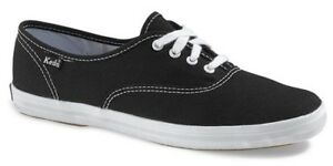 b0c0e8021bd Keds Women s Champion Black Canvas Shoes - Sizes 6.5   7 NWOB
